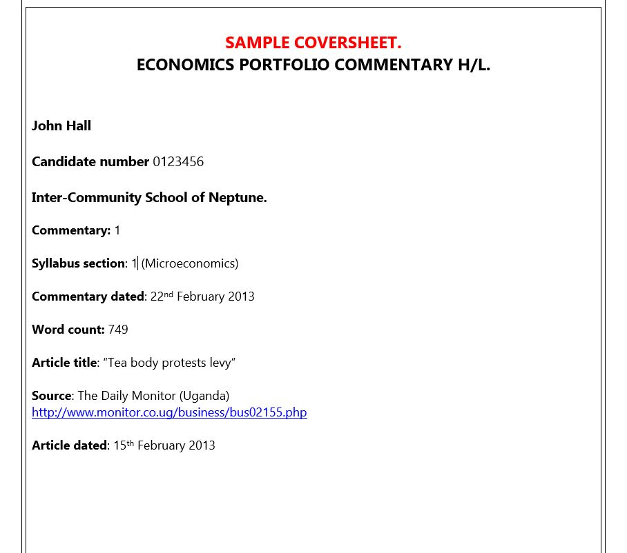 economics essay questions ib © cambridge university press 2012 economics for the ib diploma 1 exam practice: paper 1 have any hl questions and percentage in total ib economics.