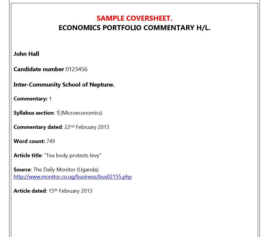 Ib Economics Commentaries The Gringonomics Blog
